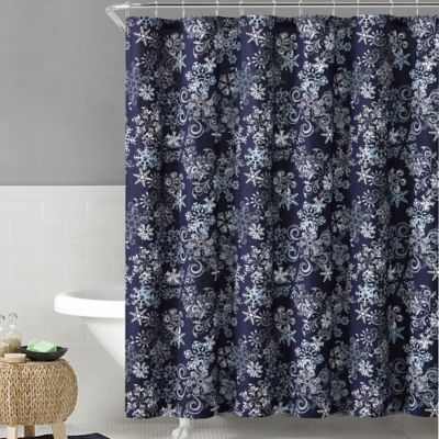 Buy Navy White Curtains from Bed Bath & Beyond