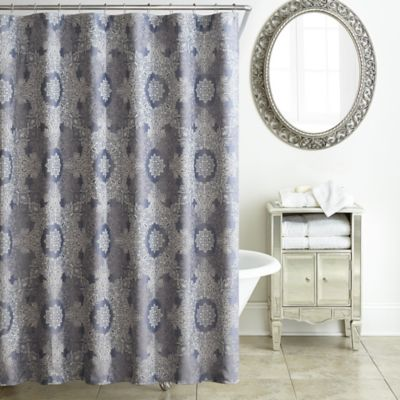 WaterfordR Veranda Shower Curtain In Thistle