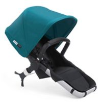 Bugaboo Runner Seat 2016 in Black/Petrol Blue