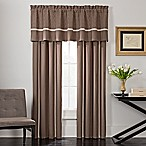 VCNY Holden 84-Inch Rod Pocket Window Curtain Panel Pair in Taupe