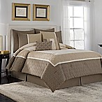 VCNY Holden 8-Piece Queen Comforter Set in Taupe