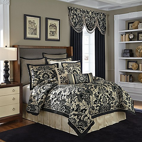 Croscill 174 Napoleon Comforter Set In Slate Bed Bath Amp Beyond