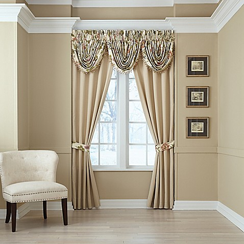 Croscill 174 Daphne Window Curtain Panels And Valance Bed