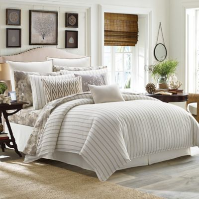 Tommy Bahama® Sandy Coast King Comforter Set In Beige