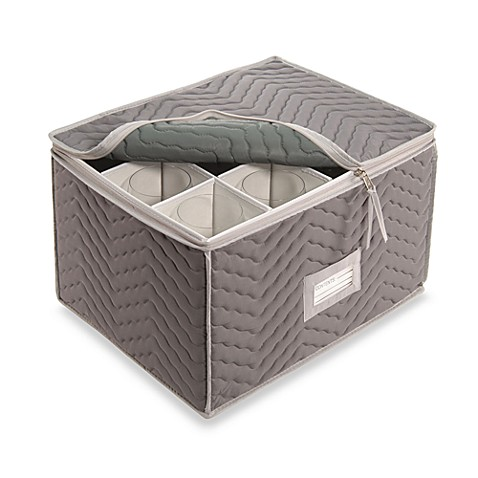 Microfiber Stemware Storage Chest