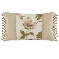 Croscill® Daphne Oblong Throw Pillow in Ivory