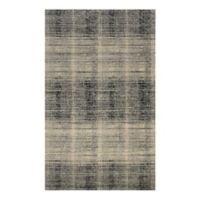 Couristan® Easton Suffolk 3-Foot 11-Inch x 5-Foot 3-Inch Rug in Black/Grey