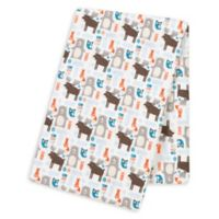 Trend Lab® Scandi Forest Deluxe Flannel Swaddle Blanket
