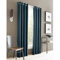 J. Queen New York™ Adorn 63-Inch Grommet Top Window Curtain Panel in Blue