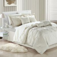 Uttermost Valde 8-Piece Queen Comforter Set in Beige