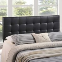 Modway Lily Vinyl Twin Headboard in Black