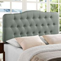 Modway Annabel Tufted Queen Headboard in Grey