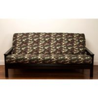SIScovers® Galaxy Camo Microfiber Loveseat Futon Slipcover in Green