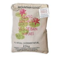 Mountain Gold™ 5.5 lb. Himalayan Bath Salts in Vanilla