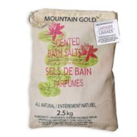 Mountain Gold™ 5.5 lb. Himalayan Bath Salts in Lavender