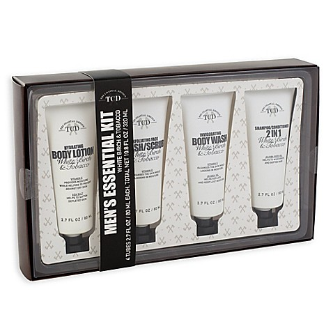 Men 39 s essential grooming gift set bed bath beyond for Mens bath set