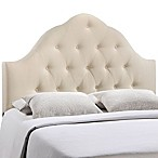 Modway Sovereign Queen Fabric Headboard in Ivory