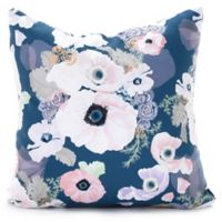 DENY Designs Khristian A Howell Une Femme Throw Pillow in Blue