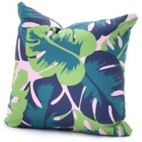 DENY Designs Zoe Wodarz Patio Party 18-Inch Square Throw Pillow in Green