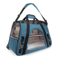 OxGord Small Soft Sided Dog/Cat Carrier in Blue