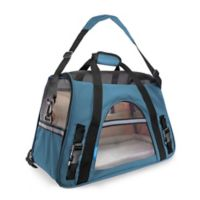 OxGord Large Soft Sided Dog/Cat Carrier in Blue