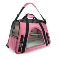 OxGord Small Soft Sided Dog/Cat Carrier in Pink