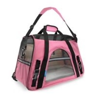 OxGord Large Soft Sided Dog/Cat Carrier in Pink