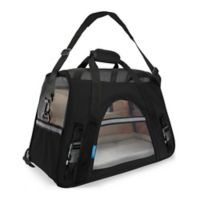 OxGord Small Soft Sided Dog/Cat Carrier in Black