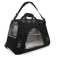 OxGord Large Soft Sided Dog/Cat Carrier in Black