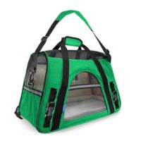 OxGord Small Soft Sided Dog/Cat Carrier in Dark Green