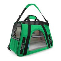 OxGord Large Soft Sided Dog/Cat Carrier in Dark Green