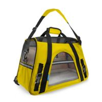 OxGord Small Soft Sided Dog/Cat Carrier in Yellow