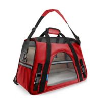OxGord Small Soft Sided Dog/Cat Carrier in Red