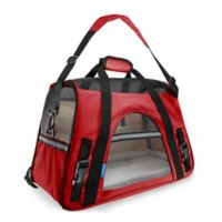 OxGord Large Soft Sided Dog/Cat Carrier in Red