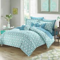 Chic Home Gianna 10-Piece King Comforter Set in Green