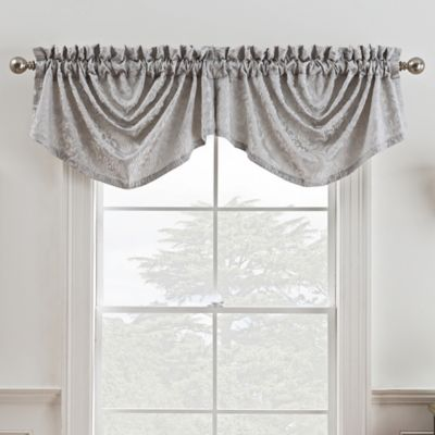 expand grommet valance tailored dark click modern p to treatment x window omega gray