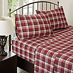 Woolrich® Tasha Flannel Queen Sheet Set in Red