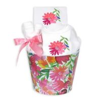 Raindrops Blooming Flowers 8-Piece Pink Daisy Gift Set