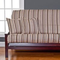 SIScovers® Spellbound Full Futon Slipcover in Gold
