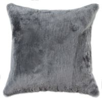 Sheepskin Nelson 18-Inch Throw Pillow in Grey