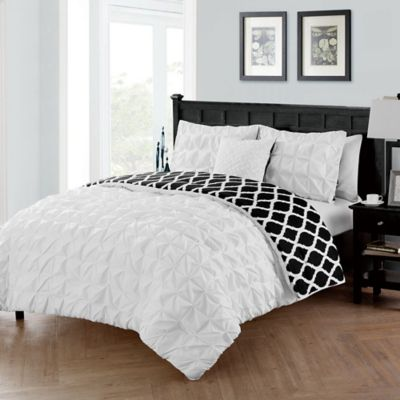buy white twin xl comforter cover from bed bath beyond. Black Bedroom Furniture Sets. Home Design Ideas