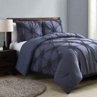 VCNY Home Jenelle Queen Comforter Set in Blue