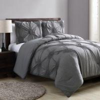 VCNY Home Jenelle Queen Comforter Set in Grey