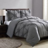 VCNY Home Jenelle Queen Comforter Set in Grey