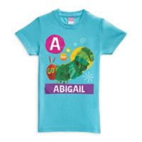 Very Hungry Caterpillar Alphabet Size 4T Shirt in Blue