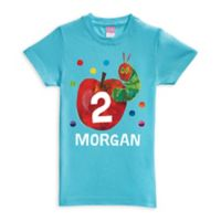 Very Hungry Caterpillar Birthday Size 2T Shirt in Blue