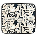 Schroeder & Tremayne The Original™ Dish Drying Mat with Texas Print in Cream/Black