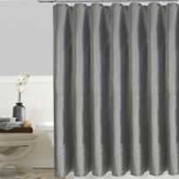 Twilight Polyester Stall Shower Curtain In Grey