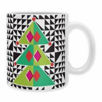 DENY Designs Zoe Wodarz Geo Pop Tree Mugs (Set of 2)