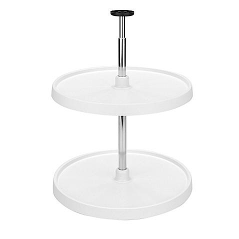 buy rev a shelf full circle 24 inch lazy susan 2 shelf. Black Bedroom Furniture Sets. Home Design Ideas